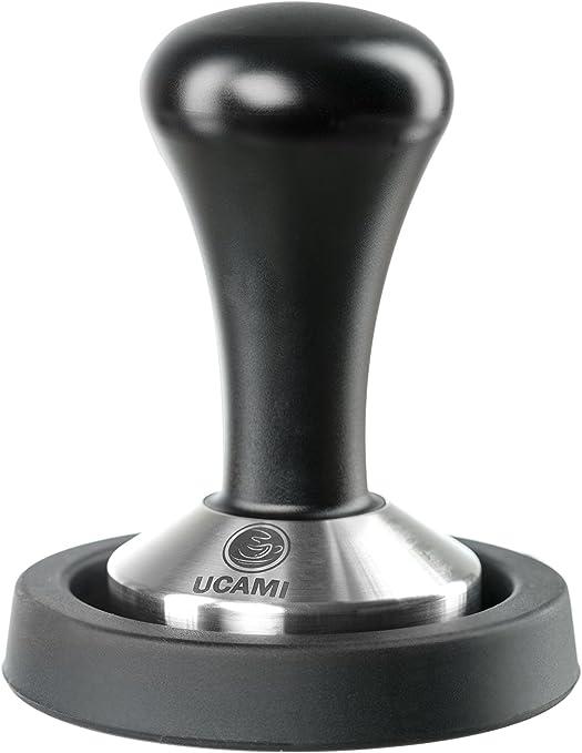 51 mm noir tapis Ucami Tampon de tassage pour caf/é moulu