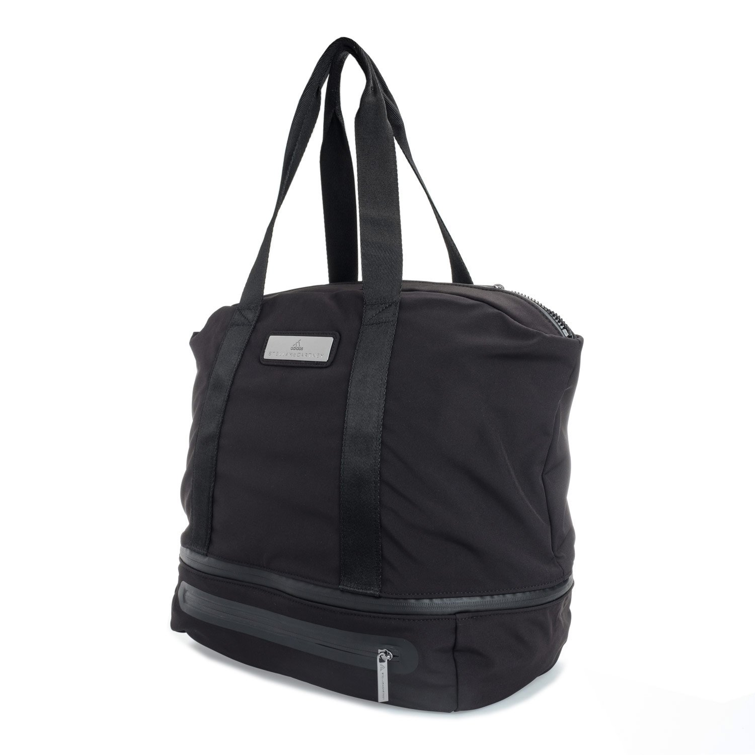 adidas Women s Iconic Bag L Bag - Black Negro Ngtste Icegry  adidas by Stella  McCartney  Amazon.co.uk  Sports   Outdoors a6a20b5c4c0f3