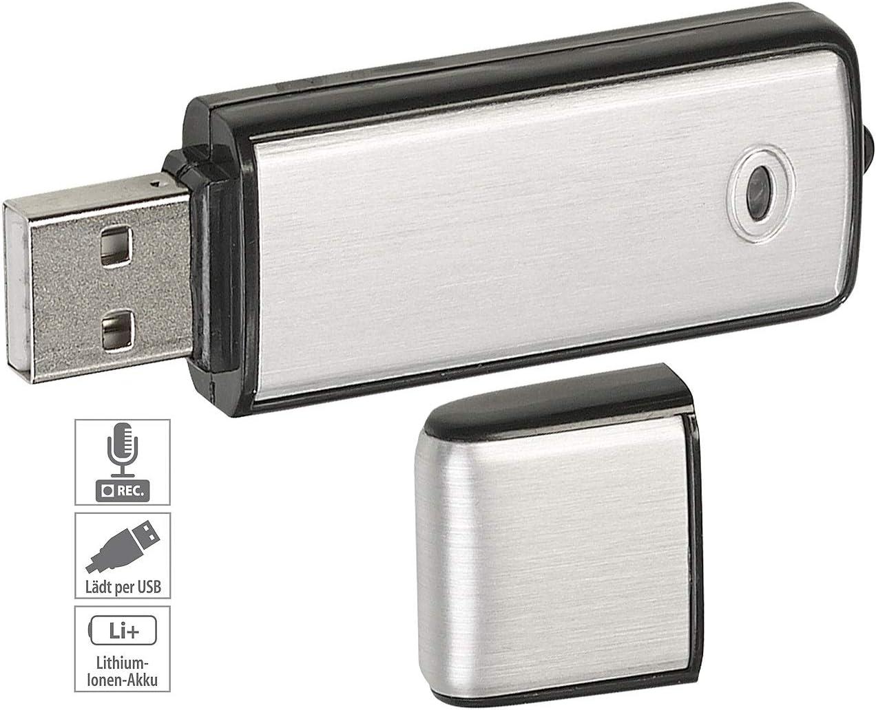 NEU PROFI VOICE REKORDER USBSTICK SPY REC GEHEIM SPRACHAUFNAHME TONAUFNAHME A112
