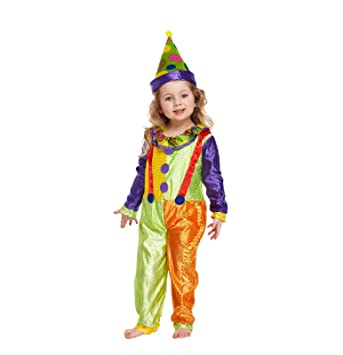 Toddler Clown Fancy Dress Costume Age 3 Years  sc 1 st  Amazon.com & Amazon.com: Toddler Clown Fancy Dress Costume Age 3 Years: Home ...