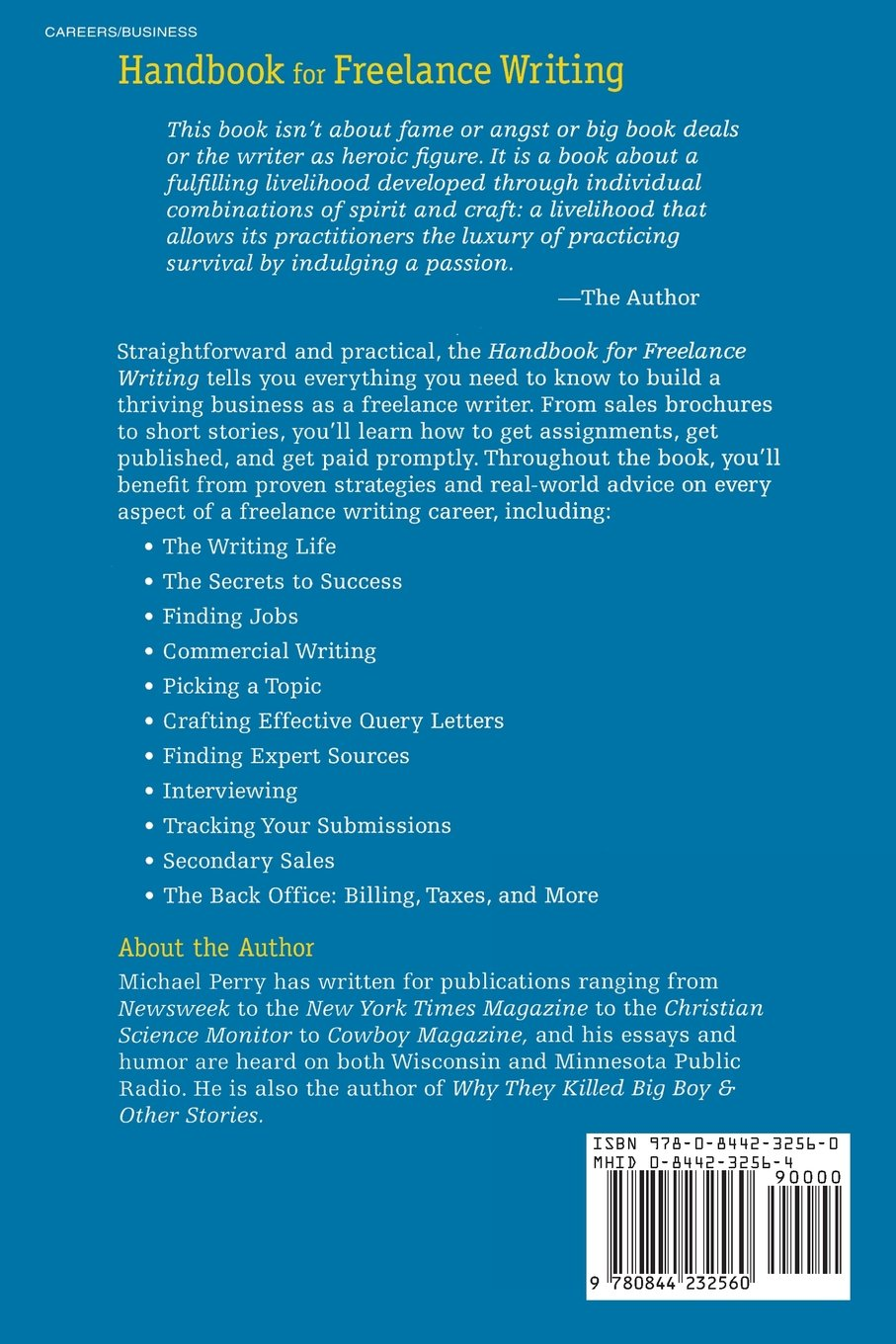 Handbook For Freelance Writing by Brand: McGraw-Hill