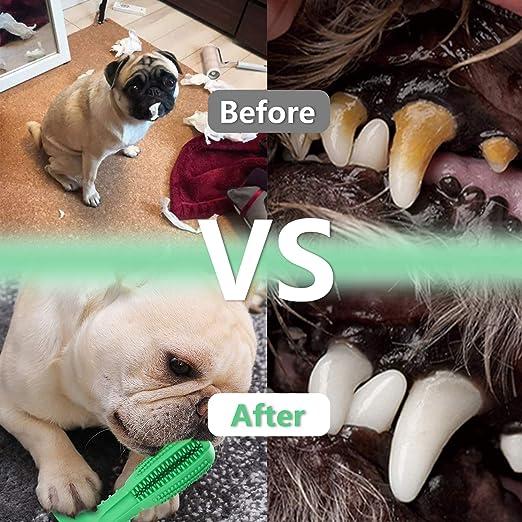 Hengda Hundezahnbürste Zahnreinigung Hundespielzeug Hunde