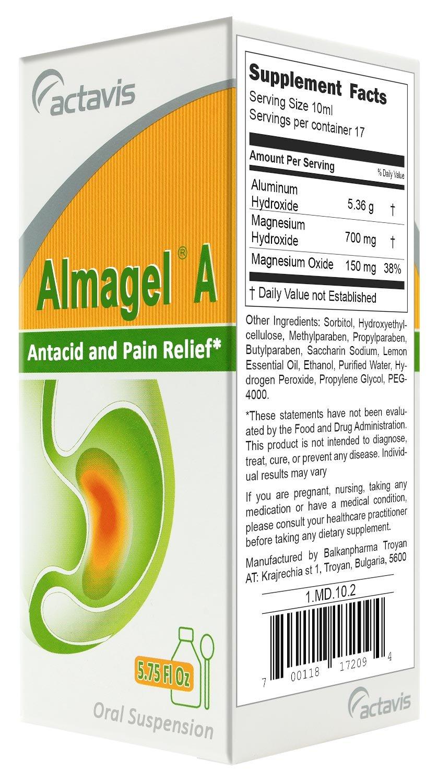 Almagel A Suspension 170ml/5.75 Fl Oz