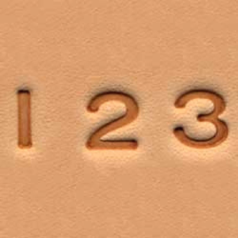Easy-to-do Easy-to-do Easy-to-do Stempelset Zahlen 0,6 cm - 10.16 cm (1), Leder, Tool Tandy 4904-00 geprägt B000YQEJXY    | Günstige Bestellung  a66f03