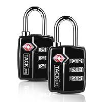Deals on 2-Pack Tacklife HCL3A 2.4 in TSA Padlock Luggage Locks