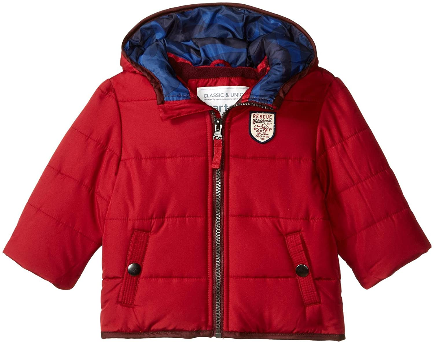 Carter's Baby Boys Heavyweight Classic Bubble Jacket Amerex Group C216830-HO