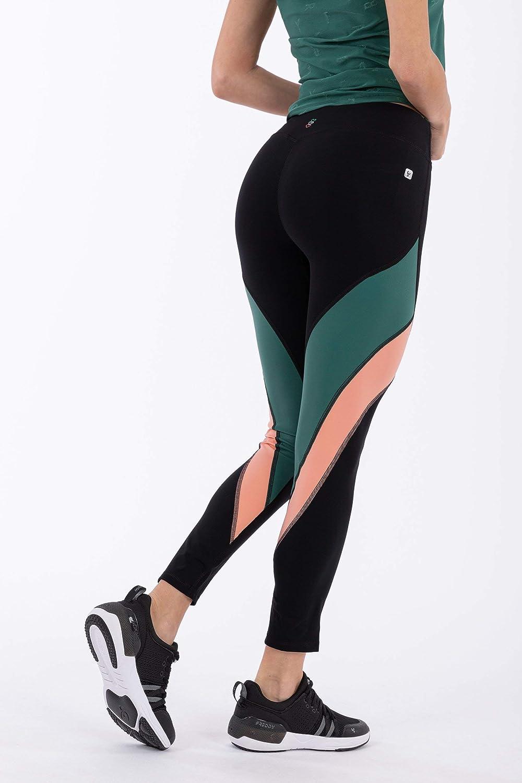 Legging de Sport Longueur 7/8 WR.UP ® de la Collection 100% Made in Italy Multicolore