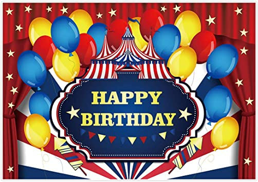 Photo Booth Carnival Birthday Party Sign PRINTED Circus Birthday Party Sign Cake Table Sign