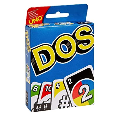 Mattel Games UNO DOS Card Game: Toys & Games