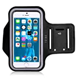 Amazon Price History for:Tribe AB66 Water Resistant Sports Armband with Key Holder for iPhone 7 Plus, 6 Plus, 6S Plus (5.5-Inch), Galaxy S6/S5, Note 4 Bundle with Screen Protector