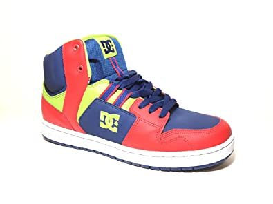 991ec438 Amazon.com: Dc Shoe Co. Spark Rs Multi Colored (Red, Lime, Blue ...