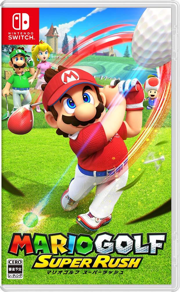 自分のMiiでのプレイも!『マリオゴルフ スーパーラッシュ』【6月25日発売!】割引情報・店舗特典