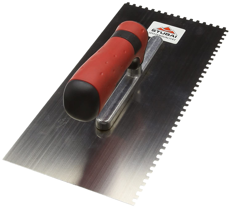 4 mm Stubai 4334302K Llana dentada 2 cantos 4mm