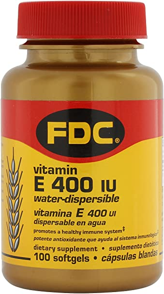 Vitamin E 400 IU Water Soluble - 100 Softgels
