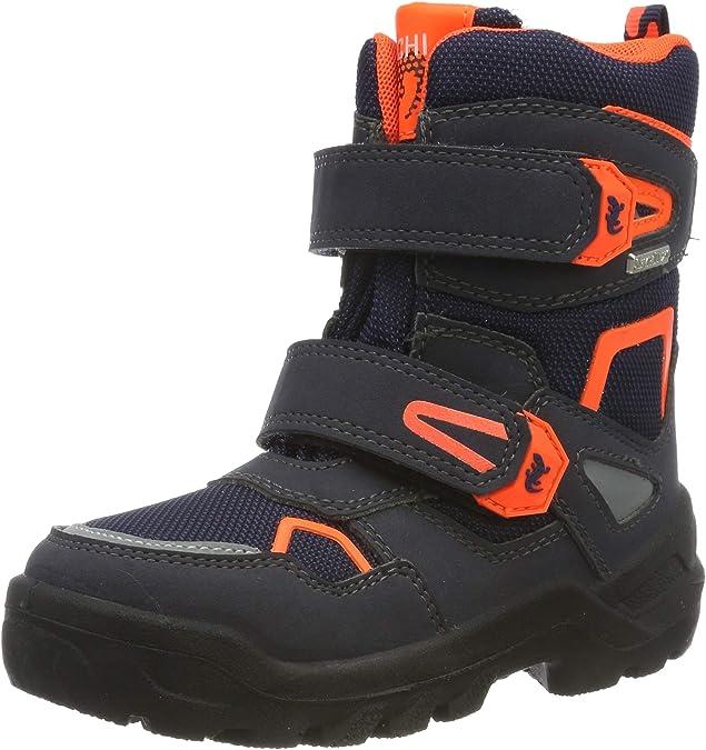 Lurchi Boys' Kaspar-Sympatex Snow Boots, (Atlantic Orange 32), 3.5 UK,Lurchi,3331032