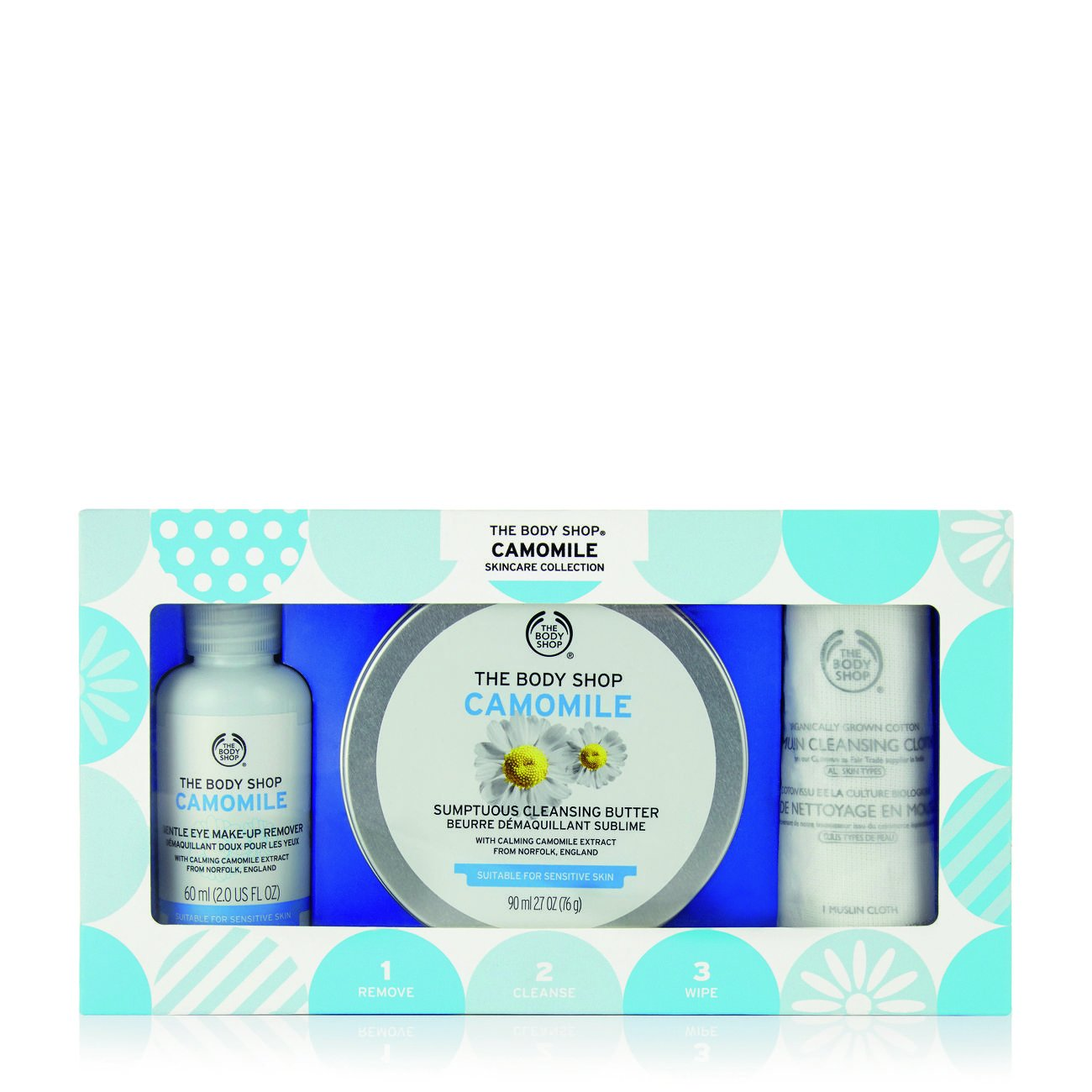 The Body Shop Camomile Makeup Remover Kit Gift Set