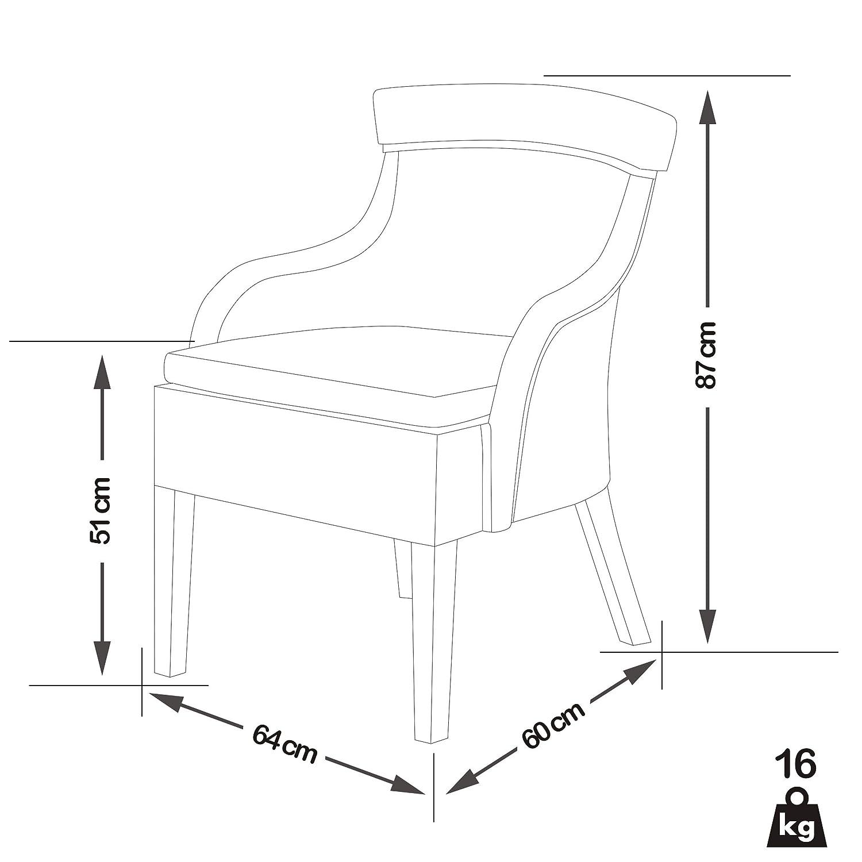 Sitzkissen SSV : -36/% Rattansessel FUEGA Kubu-Rattan und Massivholz Wei/ß inkl