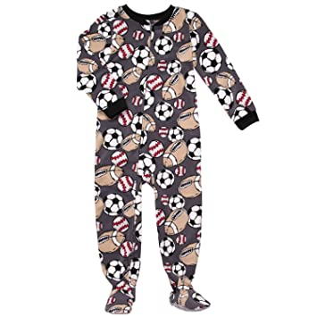 06f1ebf400bb Amazon.com   Carter s Boys Sports Theme Micro Fleece Footed Blanket ...