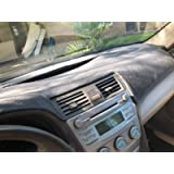 JIAKANUO Auto Car Dashboard Dash Board Cover Mat Fit for Toyota Camry 2007-2011 (Camry 07-11, Gray)¡