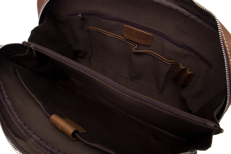 Jellybean Gorilla Handcrafted Full Grain Genuine Leather Business Briefcase Men Messenger Bag for 15-Inch Laptop by Jellybean Gorilla (Image #1)