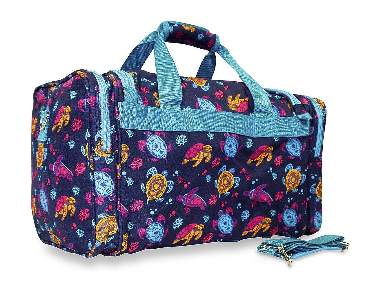 Ever Moda Sea Turtle Duffle Bag 9523
