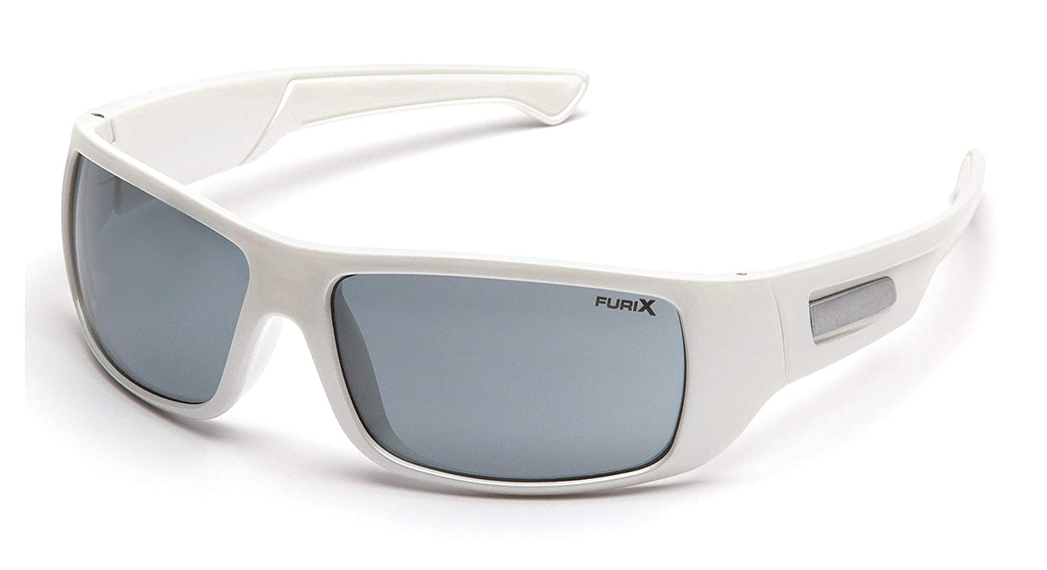 White Frame//Gray Anti-Fog Pyramex Furix Safety Glasses