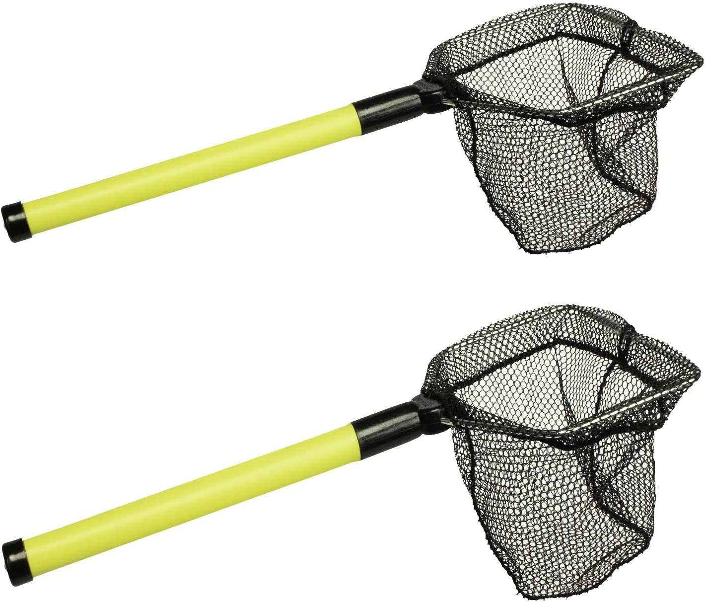 EGO Floating Bait Net, Great for Live Wells, Compact andDurable Plastic That Floats, Salt & Freshwater, Colors MayVary, Flexi Handle & 3/16 Mesh