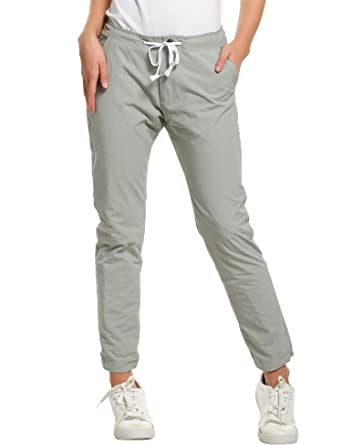 38b9db23704 Meaneor Womens Outdoor Lightweight Waterproof Casual Sports Hiking Pants   Amazon.co.uk  Clothing