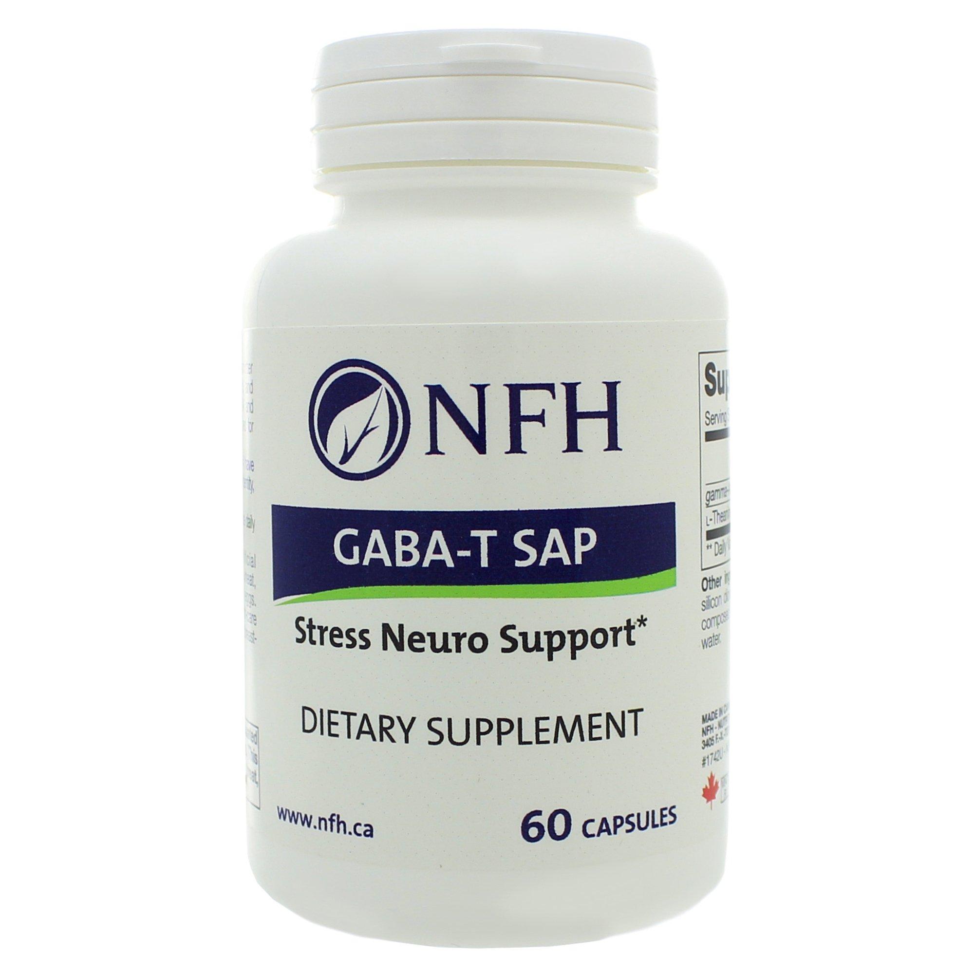 Nutritional Fundamentals for Health GABA-T SAP 60 caps by Nutritional Fundamentals for Health