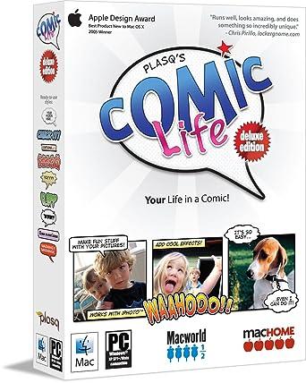 Comic Life Deluxe Comic Strip Book Creator: Amazon ca: Software