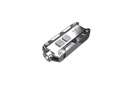 Nitecore Tip acero inoxidable – 360 LM, 3 colores, cubierta en acero inoxidable,