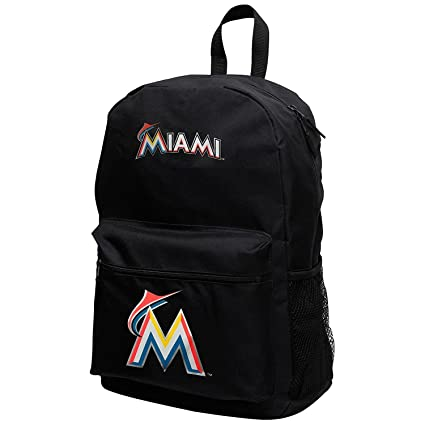 Amazon.com: MLB Miami Marlins Sprint Mochila, 18-inches ...