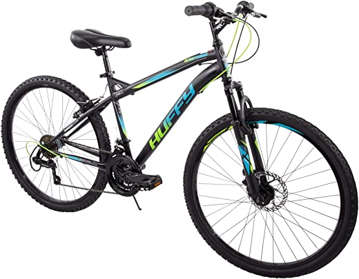 "Huffy 26"" Nighthawk Men's Mountain Bike, Black Matte 18 Speed"