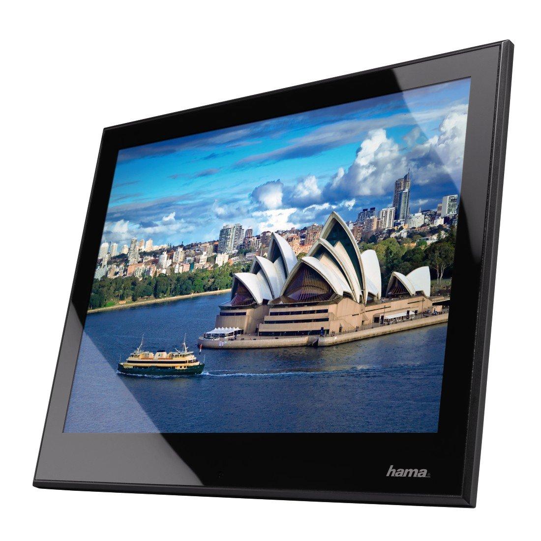 Hama Digitaler Bilderrahmen Slimline Premium Acryl 9,7: Amazon.de ...