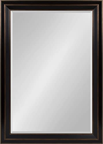 Kate and Laurel Whitley Framed Wall Mirror, 29.5×41.5, Bronze