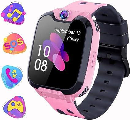 Montre Intelligente Pour Enfants Jeux Smartwatch Phone Appel Avec Mp3 Camera Lecteur De Musique Reveil Regarder Pour Garcon Fille Adolescents 3 15 Ans X9 Jeu Mp3 Pink Amazon Fr High Tech