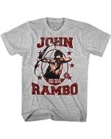 Rambo One Man One War Mens Crew Tee T Shirt