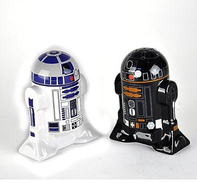 R2-D2 and R2-Q5 unique salt and pepper shaker set