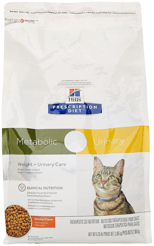 Amazon.com : Hills Prescription Diet Metabolic + Urinary Feline - Chicken Flavor - 6.35Lbs : Pet Supplies