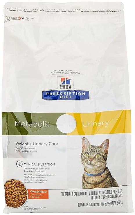 HillS Prescription Diet Metabolic + Urinary Feline - Chicken Flavor - 6.35Lbs