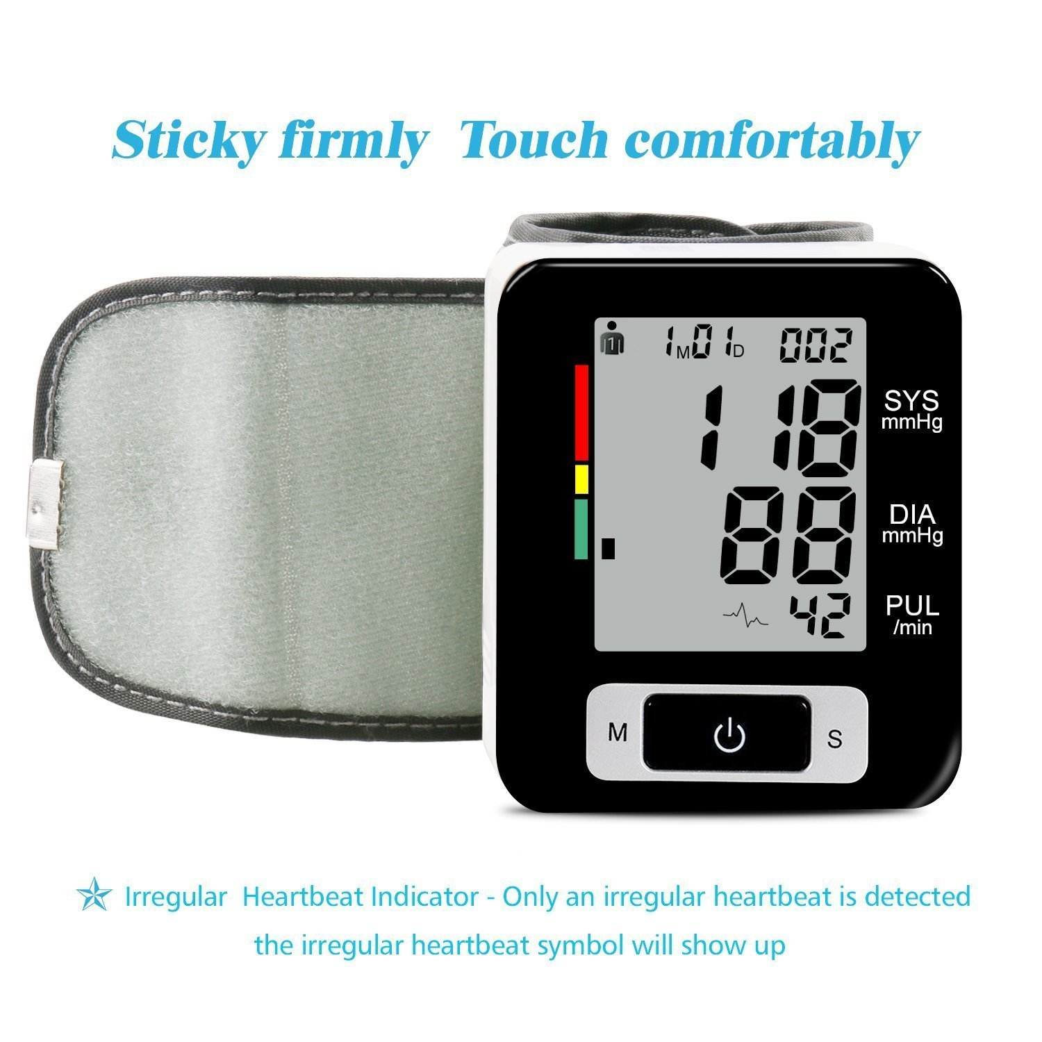 Amazon Wrist Blood Pressure Monitor Accurately Monitor With 90