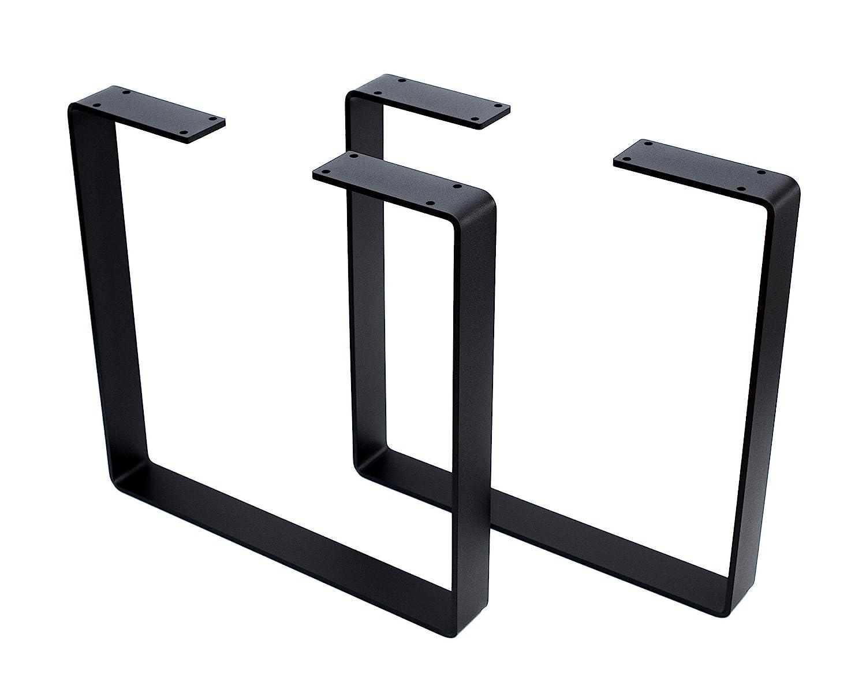 threeofour square metal coffee table legs bench legs furniture legs set of 2