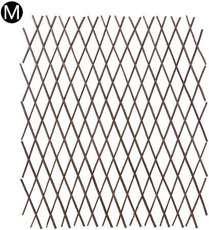 Valla De Madera Maciza, Valla Instantánea Duradera Y Extensible Marco De Escalada De Plantas Marco De Flor De Celosía Marco Decorativo Adecuado Para Jardín Jardín De Flores: Amazon.es: Hogar
