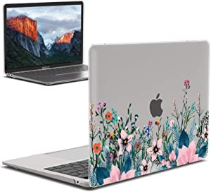 IBENZER New 2020 MacBook Air 13 inch Case M1 A2337 A2179 A1932, Plastic Hard Shell Case for Apple Mac Air 13 Retina Display with Touch ID (2018-2020), Orris, MAD-T13AFL