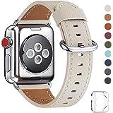 WFEAGLコンパチブル Apple Watch 本革バンド iWatch Series4/3/2/1用