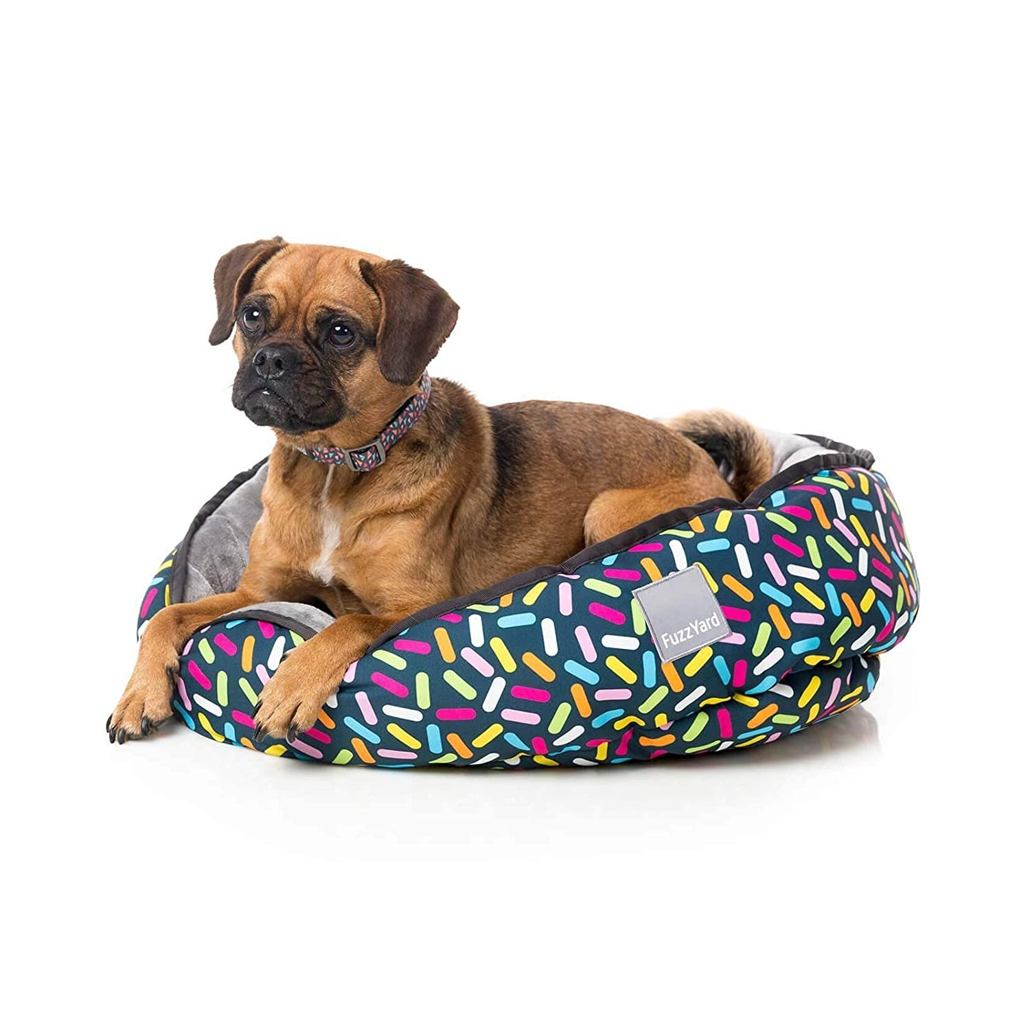 FuzzYard Sugar Rush Reversible Dog Bed Small