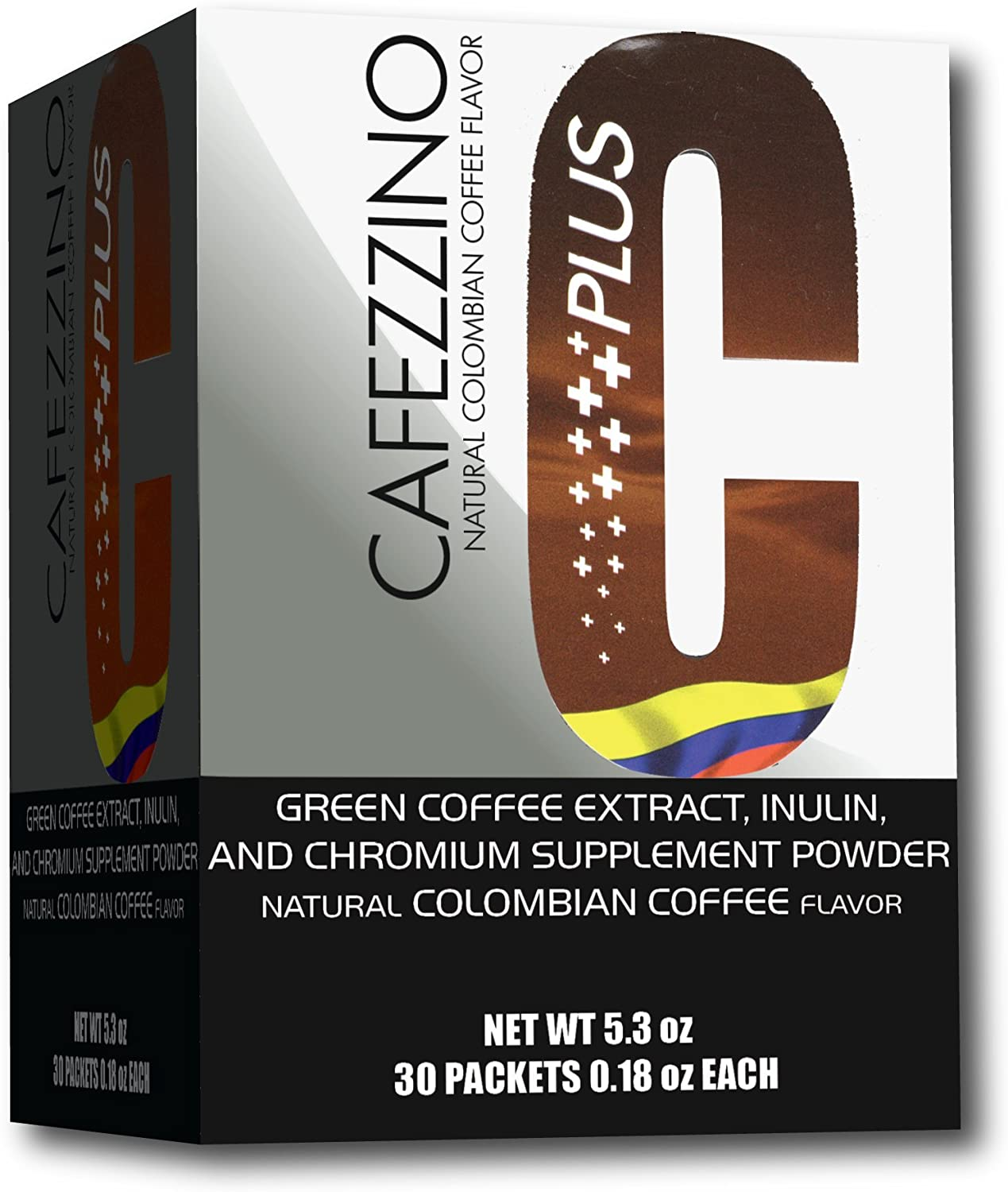 Amazon Com Cafezzino Plus With Chromium And Green Coffee Bean Extract Health Personal Care
