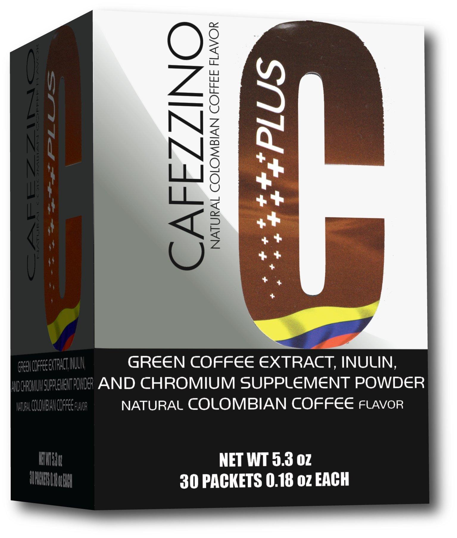 Cafezzino Plus! With Chromium and Green Coffee Bean Extract