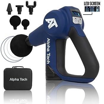 AlphaTech Handheld Percussion Massage Gun