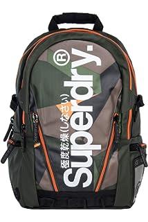 Superdry Unisex Angular Tarp Backpack (Autumn Green, One Size)